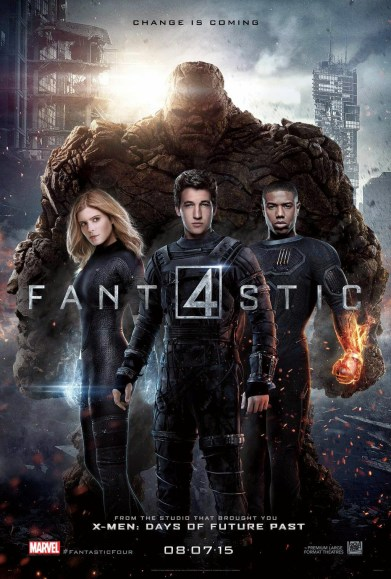 Cuatro Fantásticos - Estreno destacado
