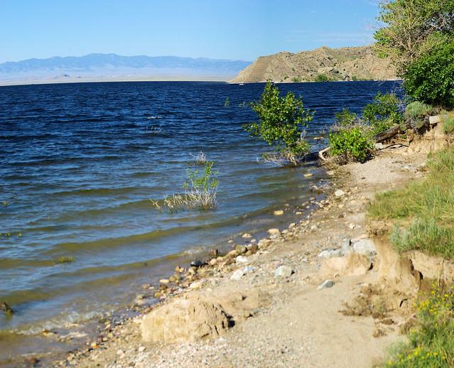 Pathfinder Reservoir, Wyoming, July 12, 2010