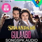 Gulabo Shaandaar Hindi Movie Songs Mp3 Download.