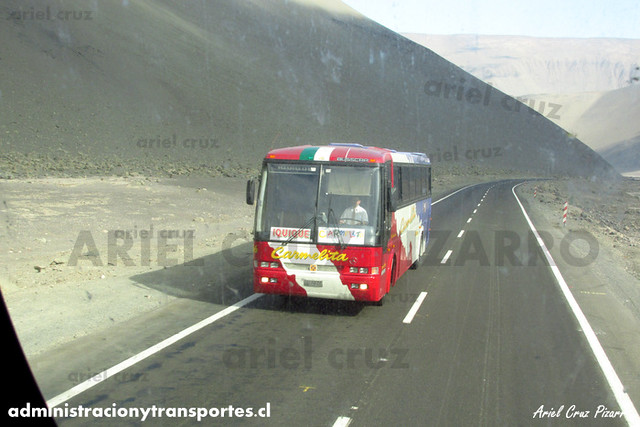Pullman Carmelita - Quebrada Chiza - Busscar El Buss 340 / Mercedes Benz (SU1070)