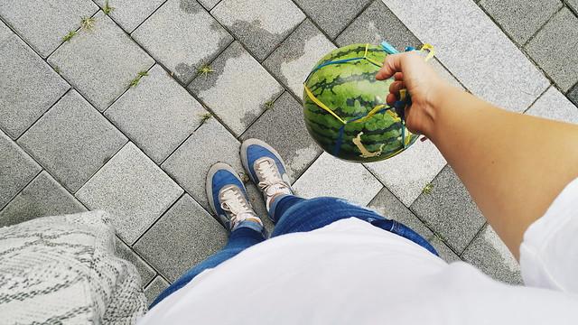 my baby watermelon