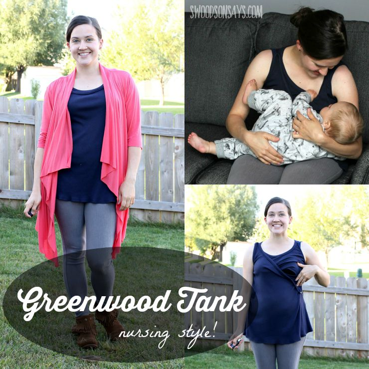Greenwood Tank from Straight Stitch Designs