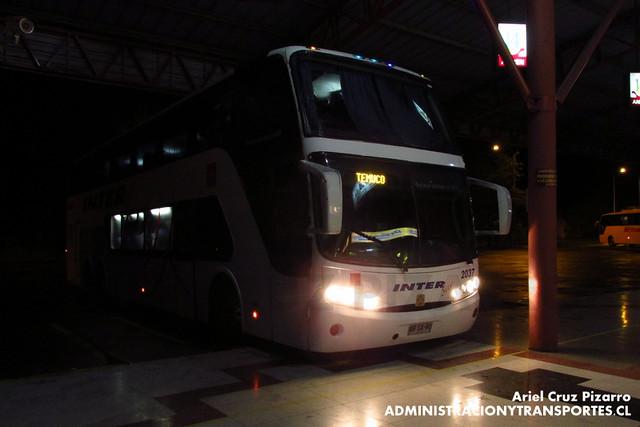 Inter Sur - Temuco - Busscar Panorâmico DD / Mercedes Benz (BBSX40)