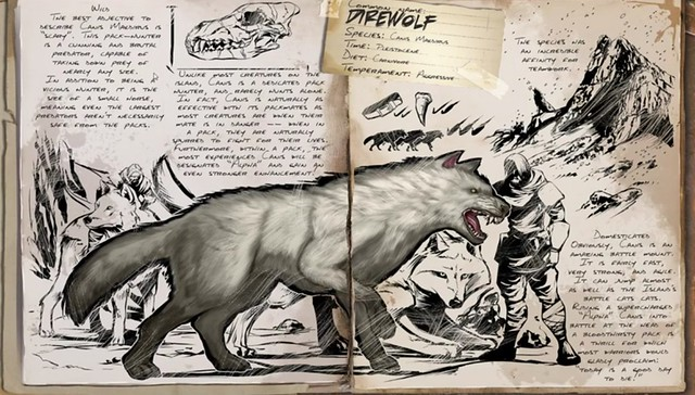 ARK: Survival Evoluirao Dire Wolf