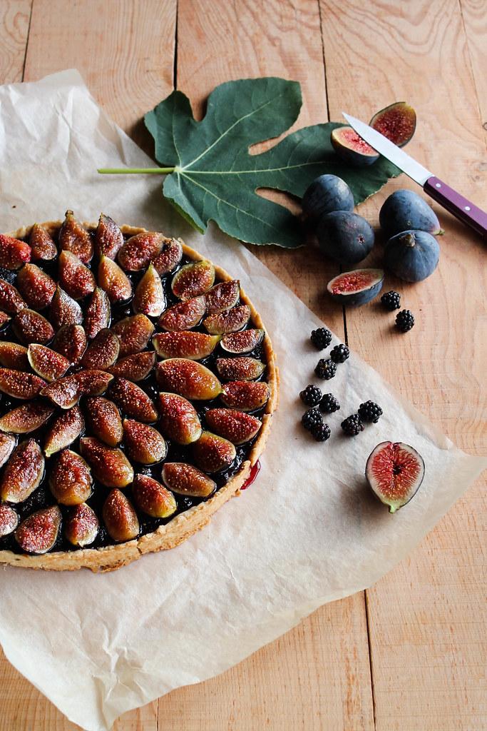 recette de tarte aux figues