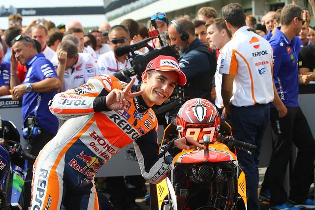 Marc Márquez. GP R. Checa 2015. MotoGP.