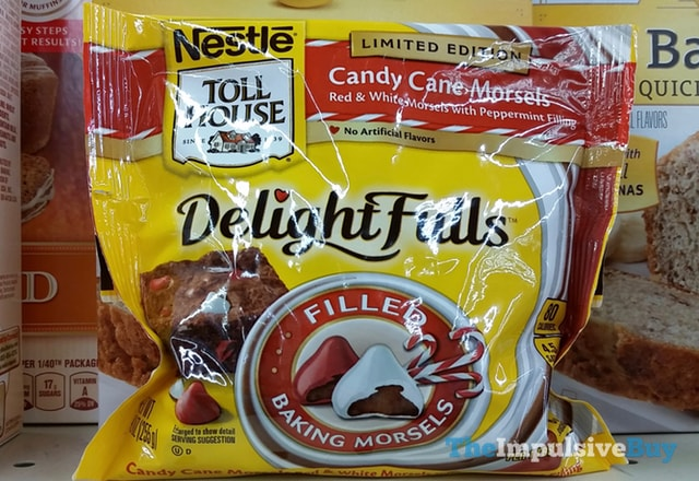 Nestle Toll House Limited Edition Delight Fulls Candy Cane Morsels