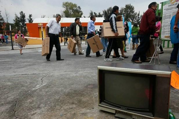 Industria de tv, lista en 98% para el apagón analógico
