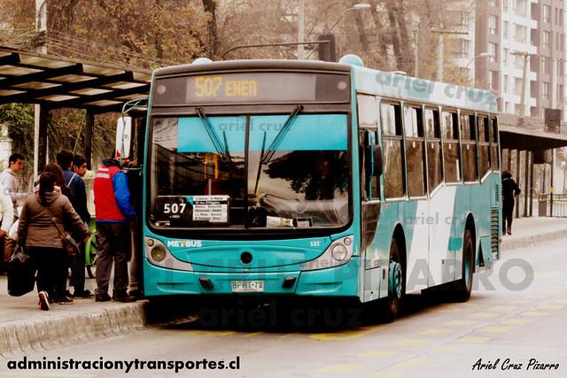Transantiago - Metbus - Caio Mondego H / Mercedes Benz (BFRT72)