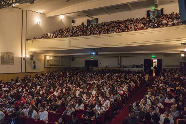 Inauguración: sala llena. Teatro Nescafé de las Artes