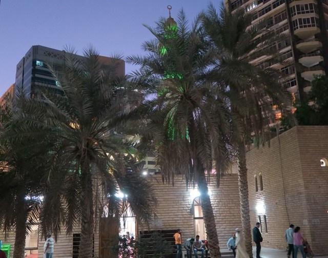 Ateeq Bin Raashid outside