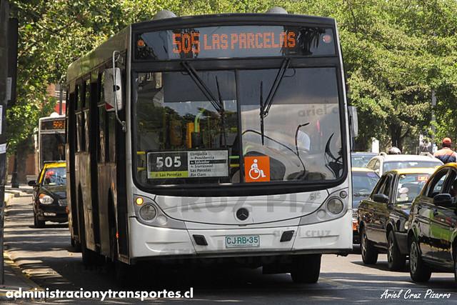Transantiago - Metbus - Caio Mondego H / Mercedes Benz (CJRB35) (565)