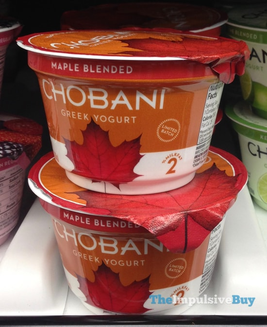 Chobani Maple Blended Greek Yogurt