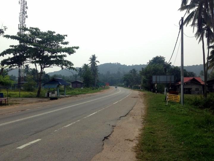 Трасса возле Чератинга