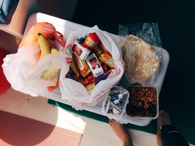 Mittagessen ist angerichtet