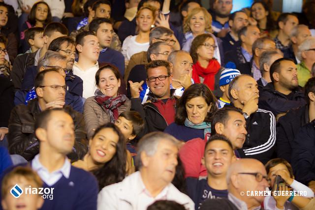 La afición en el Deportivo - Atlético de Madrid