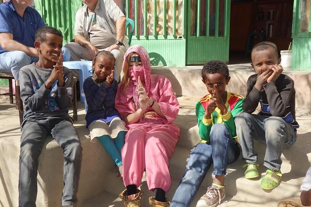エチオピアの子供
