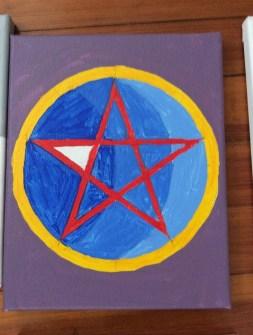 Pentagram Painting