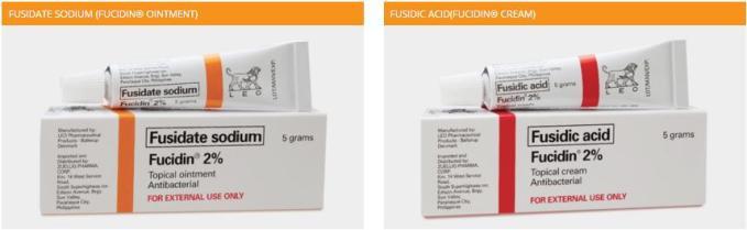 fucidin cream and fucidin ointment