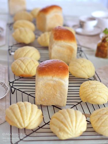 湯種食パン・メロンパン 20151220-DSCF0032
