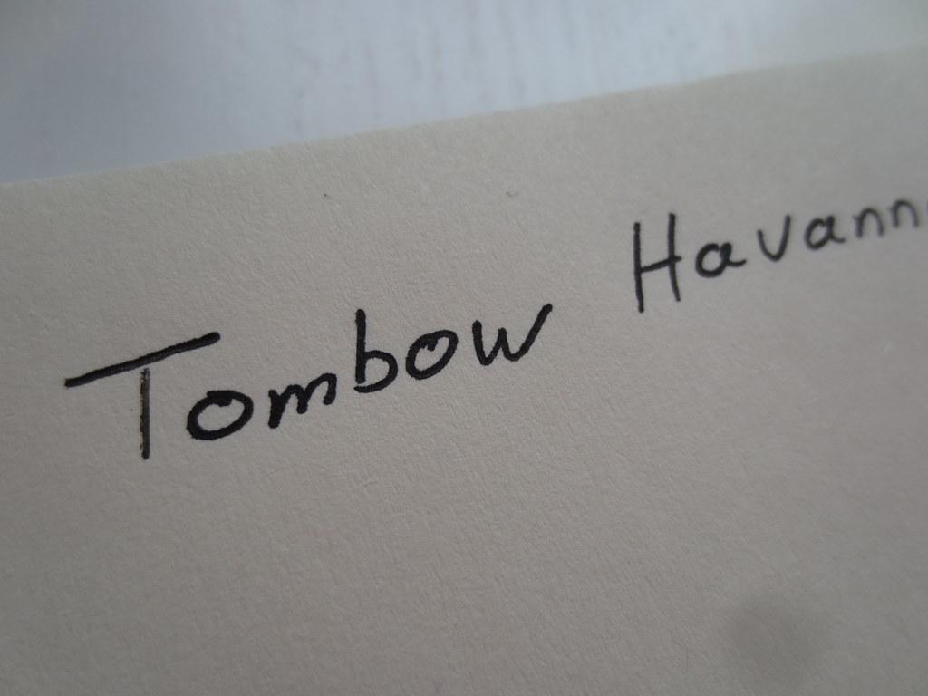 Tombow Havanna Rollerball