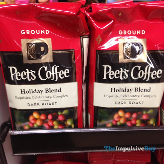 Peet's Coffee Holiday Blend 2015 Ground Coffee