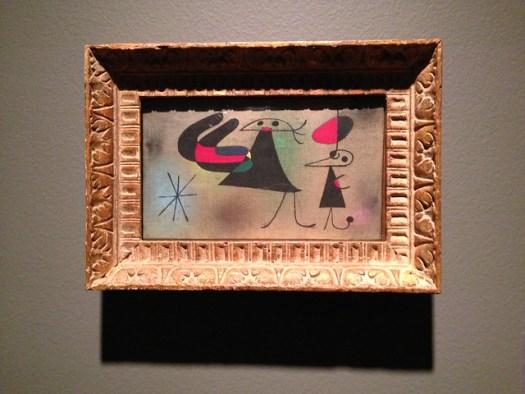 Joan Miro: Figures and Star