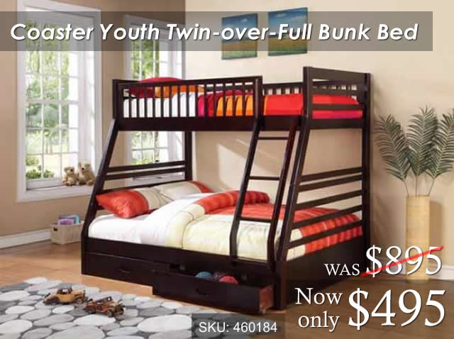 Coaster Youth Bunk Bed