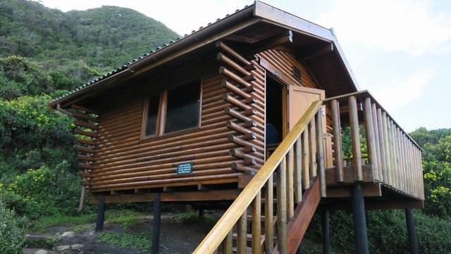 day 2 hut otter trail