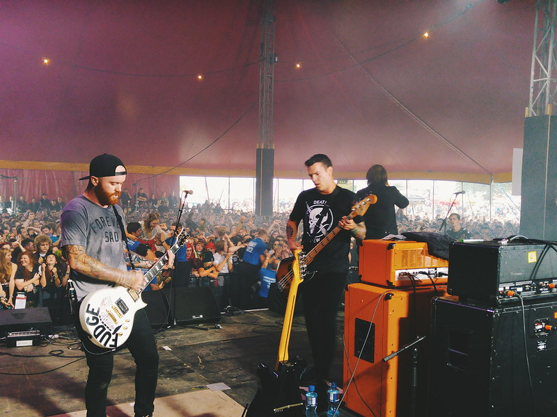 Beartooth at The Pit Stage, Reading Festival