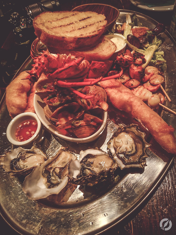 Seafood Platter, Fishbone, New Zealand