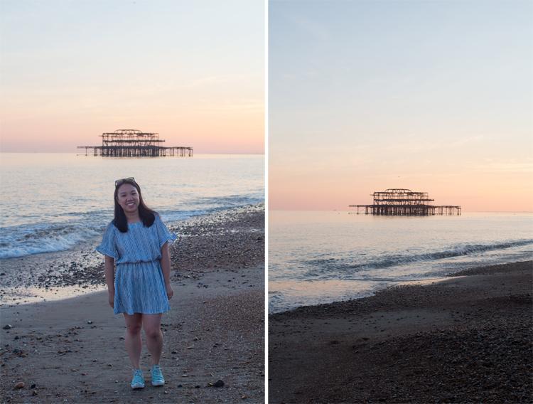 west pier collage
