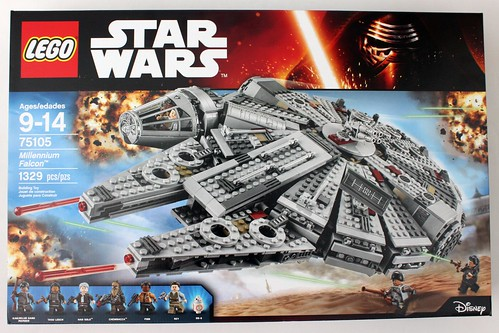 The Brick Fan Top 10 LEGO Reviews in 2015   The Brick Fan LEGO Star Wars  The Force Awakens Millennium Falcon  75105
