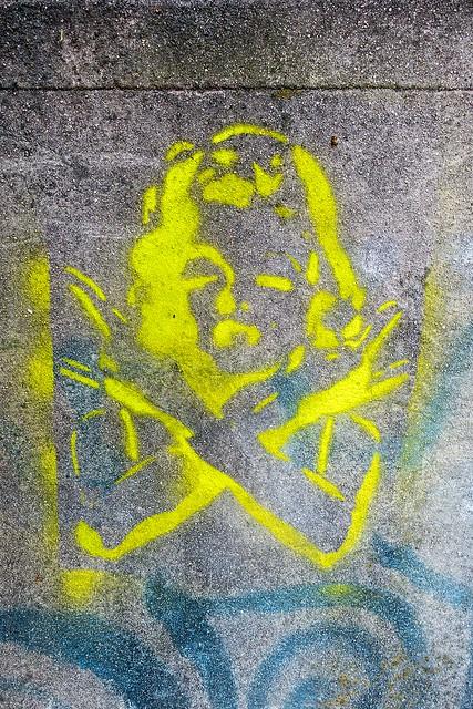 Angel Stencil
