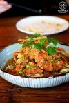 Crispy soft shell crab, with spicy spanner crab mung bean noodle, $24. The Rice Den, St Leonard: Sydney Food Blog Review