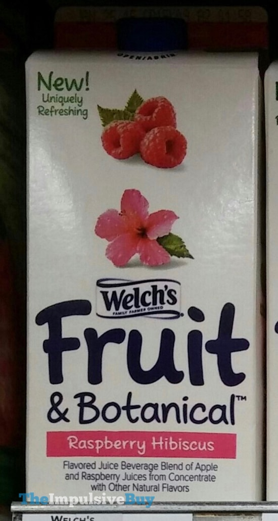 Welch's Fruit & Botanical Raspberry Hibiscus