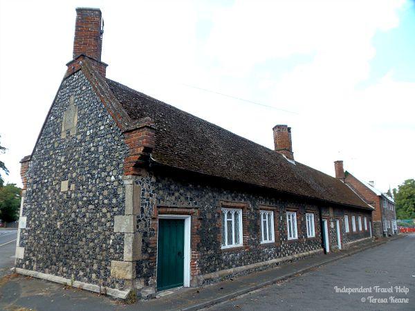 Almshouses in Thetford