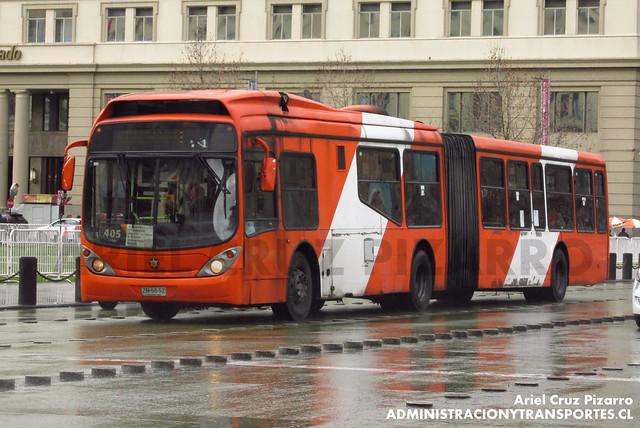 Transantiago - Express de Santiago Uno - Marcopolo Gran Viale / Volvo (ZN5652)