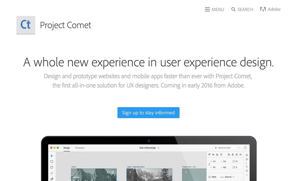 Adobe Comet