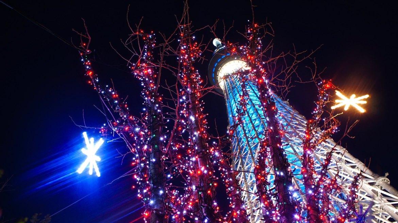 Tokyo Skytree Christmas