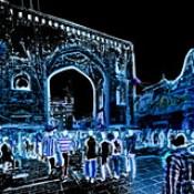 India - Telangana - Hyderabad - Streetlife At Night - 7bb.
