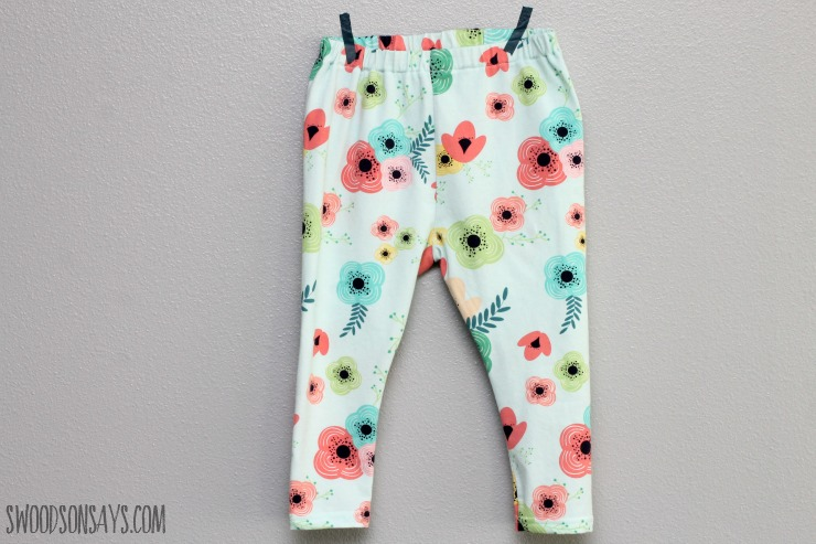 Free cloth diaper pants sewing pattern