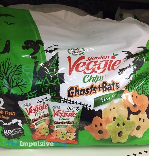 Garden Veggie Sea Salt Ghosts + Bats Chips