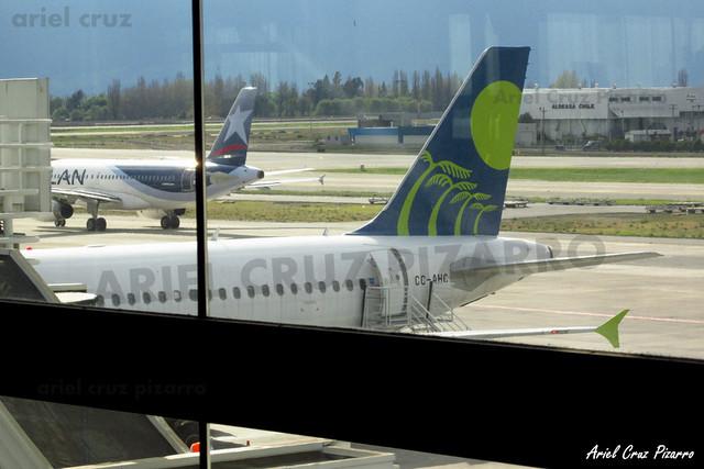 Sky Airline - Santiago (SCL) - Airbus A319 CC-AHC