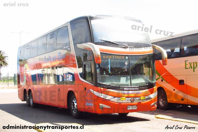 Pullman Bus | La Serena | Marcopolo Paradiso 1800 DD - Scania (FFTS37) (2552)