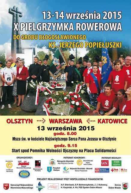 Plakat bieg Popieluszko_Olsztyn_2015.cdr