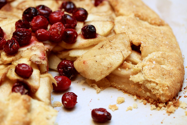 Apple Cranberry Galette - 34