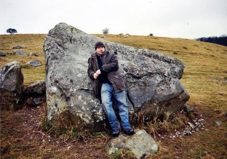 Flinton Chalk of TC Lethbridge on Fyfield Down, Wiltshire