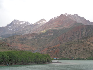 Lago Iskanderkul, Tajiquistao
