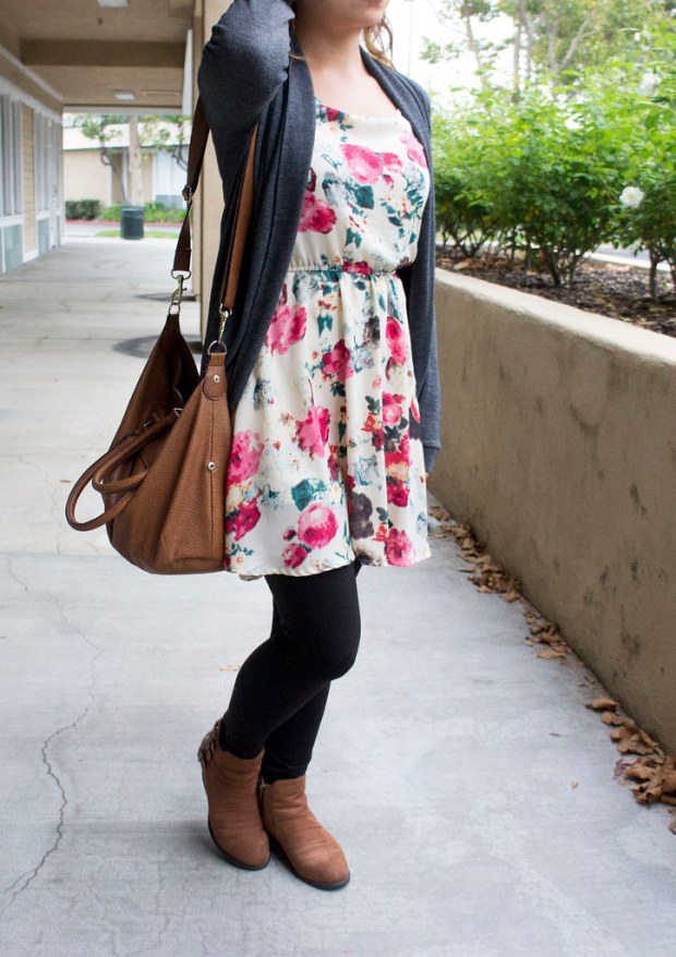Bright Girly Floral Dress